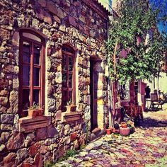 @ferhan talib | Colorful ... | Bozcaada