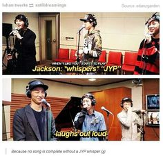 Jackson knows what's up. Ain't no jyp song complete without the whisper.