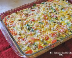 Spinach and Tomato Egg Bake With Gold'n Plump Chicken Breakfast Sausage