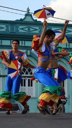 Culture of Brazil - Frevo Dance