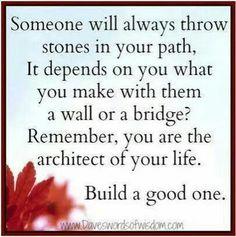 Stones - stenen op je pad