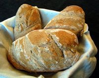 Pan Rustico (Rustic Spanish Bread) - This is a very simple bread recipe. It paired well with Romesco sauce.