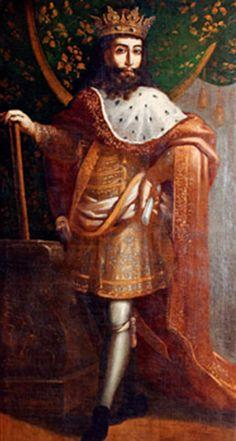 """Pedro I (Coimbra, 8 de abril de 1320 – Estremoz, 18 de janeiro de 1367), apelidado de """"o Justo"""" e """"o Cruel"""", foi o Rei de Portugal e Algarve de 1357 até sua morte. Era filho do rei Afonso IV e sua esposa Beatriz de Castela."""
