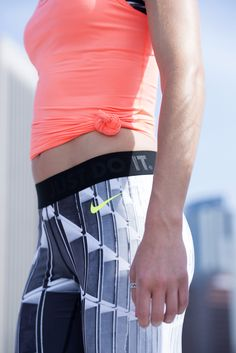 Mix it up with prints. Max it out in comfort. The Nike Tight of the Moment.