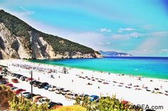 Greece is an amazing destination with good number of stunning beaches. Here we present 10 best beaches in Greece. Make sure you visit as many as you can. Holiday Destinations, Amazing Destinations, Myrtos Beach, Travel Information, Heaven On Earth, Greece Travel, Greek Islands, Beach Photos, Vacation Trips