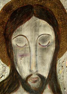 jesucristo | Photo of multimedia retablo of Jesus Christ pai… | Flickr