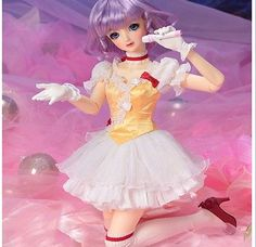 1/3 BJD doll Girl volks creamy mami Doll FREE FACE MAKE UP+FREE EYES