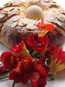 O Cantinho da Marta: Folar de Páscoa - Lidl Lidl, Breakfast, Breads, Spotty Dotty Cake, Serving Bowls, Portuguese Recipes, Vegetarian, Candy, Food