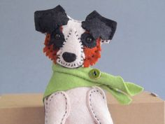 Commissions in TheBigForest Handmade Miniature Dog. email thebear@thebigforest.co.uk for more details