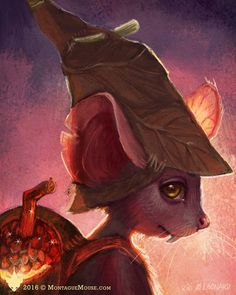 Montague Mouse by kirileonard