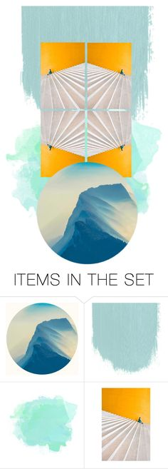 """Floating stairs"" by musettaymimi on Polyvore featuring arte, Collage, art, expression, experiment y contestentry"