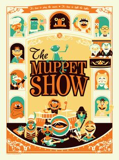 The Muppet Show....LOVED to sit down and watch this especially when they had my favorite star co-hosting!