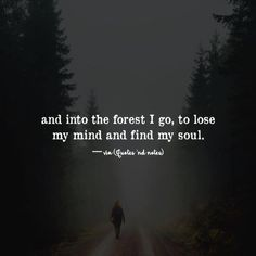 and into the forest I go to lose my mind and find my soul. via (http://ift.tt/2lZQgpB)
