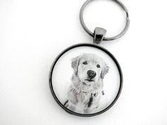 Personalized Pet Owner Keychain, Custom Made with Your Pets Photo, Cat and Dog Owner Gift, Loss of Pet Memorial Gift
