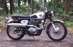 Honda CB 450D (rare item)