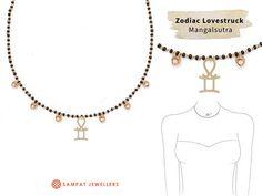 Sonam Kapoor Zodiac Mangalsutra | Sampat Jewellers Inc.