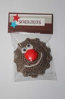 Scherzkeks mit Verpackung..kleines Geschenk-