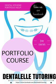 Join the community on facebook - www.facebook.com/DentalelleTutoring --> free courses, free mock exams, webinars.  For dental assisting students, hygiene students, dental hygienists and dental assistants!