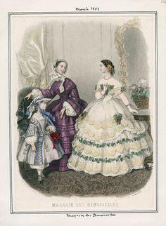 Magasin des Demoiselles March 1857 LAPL