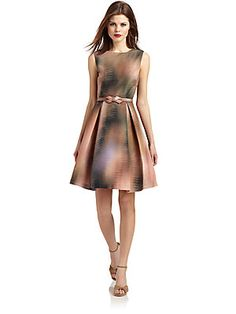 Ted Baker Belted Graphic-Print Dress Ted Baker Belt, Saks Fifth Avenue, Graphic Prints, Kids Outfits, Dresses For Work, Fun, Design, Women, Style