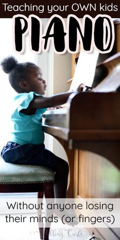 The piano is a tangible musical instrument. If you have the heart of a musician, you have to learn to play piano. You can learn to play piano through software and that's just what many busy individuals do nowadays. The piano can b Piano Teaching, Teaching Kids, Kids Learning, Learning Piano, Teaching Resources, Music Lessons For Kids, Kids Piano, Best Piano, Piano Music