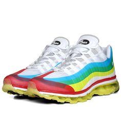 online store 671b1 ac37c Nike Air Max 95 + 360 NRG (White   Sport Red)