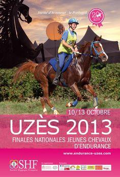 700 jeunes chevaux d'exception en piste à Uzès | 20e édition des Finales nationales de jeunes chevaux d'endurance à Uzès, 10-13 octobre 2013.