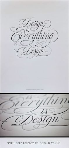 design is everything is design