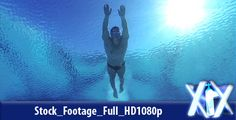 Diver Into Water ...  athlete, control, dive, diver, dolphin, falling, freedom, human body, man, pool, splashing, sports, swimming, training, underwater