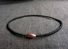 Black Seed Beads Solid Copper Tube Bracelet / Men by Bracelet Men, Bracelets For Men, Copper Tubing, Black Seed, Horns, Seed Beads, Tube, Brass, Gemstones