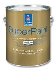 Count on SuperPaint® Exterior Acrylic Latex to deliver outstanding performance and protect against the elements