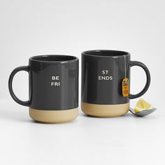 personalized mug set from RedEnvelope.com - RedEnvelope Gifts via www.AmericasMall.com/redenvelope-gifts