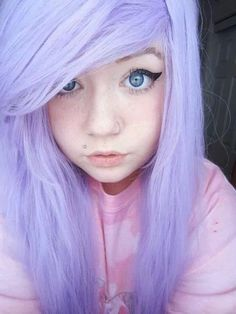 beautifulrandomnesssss:  Pastel goth on We Heart Ithttp://weheartit.com/entry/84265293/via/sam_rainbow