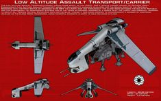 Low Altitude Assault Transport/Carrier ortho [New] by unusualsuspex on DeviantArt