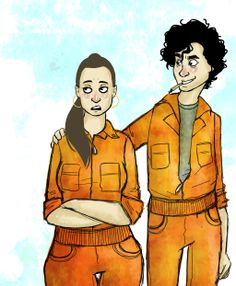 Nathan and Kelly by blackxmath on DeviantArt Series Movies, Tv Series, Misfits Tv Show, Mis Fit, Robert Sheehan, I Love Reading, Monkey, Fangirl, Tv Shows