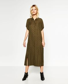 Image 1 of STAR PRINT DRESS from Zara