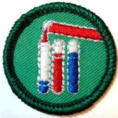 Chemistry Craze, Black Hawk (have it) Girl Scout Council, Black Hawk, Thank You God, Girl Scouts, Badges, Chemistry, Thank God, Girl Guides, Brownie Girl Scouts