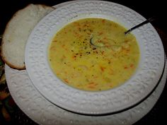 Cauliflower Cheese Soup yum-for-the-tum Food N, Good Food, Yummy Food, Cauliflower Cheese Soups, Winter Food, Winter Meals, Looks Yummy, Weather Forecast, Soup Recipes