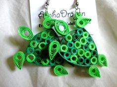 paper quilling turtle - Google Search