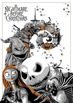 The Nightmare Before Christmas (1993) [700x990] by Simon Delart : MoviePosterPorn