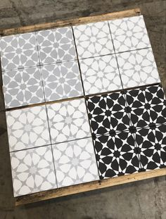 We are expending the selection of the popular Handmade Encaustic Cement tiles. Medina Black on White, Medina White Gray, Atlas White on Light Gray… head over to our website to pick up your samples! *prices valid through Kitchen Redo, Kitchen Remodel, Kitchen Ideas, Kitchen Counters, Home Renovation, Home Remodeling, Credence Adhesive, Grey Kitchen Designs, Diy Bathroom Decor