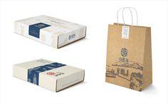 Fishing Village on Behance Fruit Packaging, Gift Box Packaging, Food Packaging Design, Branding Design, Menu Design, Cafe Design, Food Design, Conveyor Belt Sushi, Fishing Villages