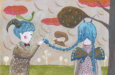 あの日の君と僕 You and me that day | Tetsuhiro Wakabayashi Illustration