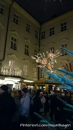 Stiftskeller christmas market in Innsbruck, Austria