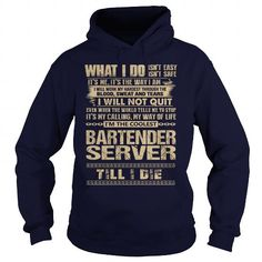 Awesome Tee For Bartender Server #hoodie #Tshirt. ORDER HERE  => https://www.sunfrog.com/LifeStyle/Awesome-Tee-For-Bartender-Server-91747116-Navy-Blue-Hoodie.html?id=60505