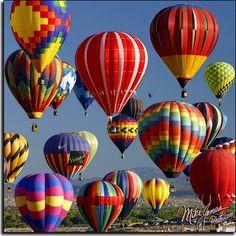 Albuquerque balloon festival.