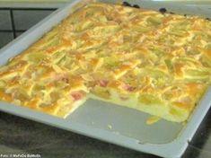 Rhabarber-Buttermilch-Kuchen - Rezept
