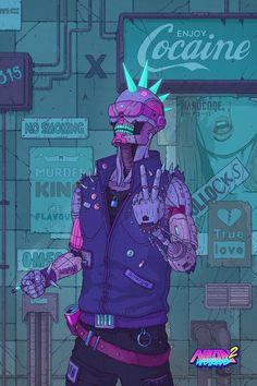 Cyberpunk Aesthetic, Cyberpunk City, Arte Cyberpunk, Cyberpunk 2077, Character Concept, Character Art, Concept Art, Character Design, Robots Characters