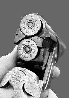 Bag full of guns: Photo Skeet Shooting, Trap Shooting, Shooting Sports, Rifles, Sporting Clays, Double Barrel, Ak 47, Guns And Ammo, Firearms