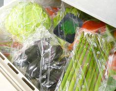380円 (税込) 送料込  野菜保存袋スパッシュ(Lサイズ、10枚入り)